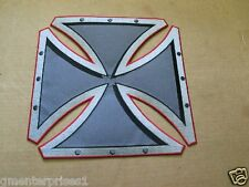 Iron Cross Patch , Large Back of Jacket size