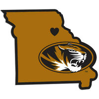NCAA Missouri Tigers Home State Decal Vinyl Sticker Car Auto Team