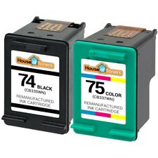 2PK HP 74 CB335W & 75 CB337W Photosmart C4200 C4280 C4300 C4380 C4400 C4450