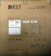 KEF Q150 Satin Black 100W Bookshelf Speakers SP3958BA OPEN BOX💥
