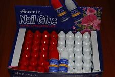 Lot Of 60 Nail Glue ProfessionaL For Acrylic Nail Art Tips Decoration Tools 3g