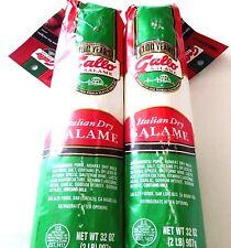 2 Gallo Italian Dry Salame 2 Lb Net Wt 32 Oz ea NEW!