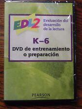 EDL2 Evaluacion del desarrollo de la lectura K-6 DVD de entrenamiento o prepar..