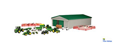 ERTL John Deere Set Farm Toys Animals Barn House Truck Wagon Tractors Sets Kids