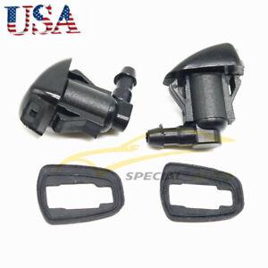 2x Windshield Wiper Spray Jet Washer Nozzle for Toyota Sienna Corolla Tundra NEW