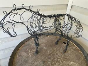 Large Wire Art Horse Sculpture Figure EUC #2