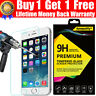 LIFETIME WARRANTY-100% GENUINE TEMPERED GLASS SCREEN PROTECTOR FOR IPHONE 6 PLUS