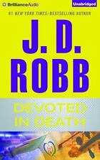 J D Robb (Nora Roberts) DEVOTED IN DEATH Unabridged 10...