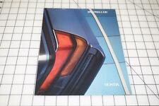 1986 Honda Prelude and Si 18-page Original Car Sales Brochure Catalog