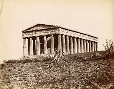 Albumen  Temple Theseaus Greece 47 Dimitris Constantine Athens Athanasiou