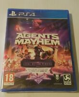 Agents of Mayhem PS4 New Sealed UK PAL Version Game Sony PlayStation 4 Saints ro