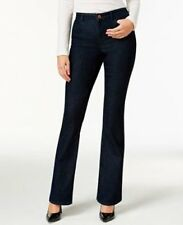 NWT Women's Style Co. Flare Leg Low Rise Jeans Short Length Rinse Wash Pants 18S