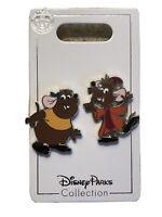Disney Trading Pin 117340 Gus and Jaq 2 Pin Set Cinderella Mice