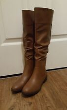 American Eagle PAYLESS BROWN Zip up Boots , US Size 7 1/2