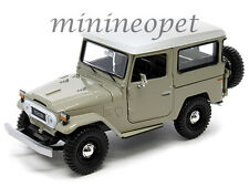 MOTORMAX 79323 TOYOTA FJ40 FJ 40 LAND CRUISER 1/24 DIECAST MODEL CAR BEIGE