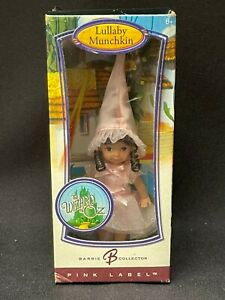 Barbie Collector Lullaby Munchkin 2006 Pink Label Kelly Doll Wizard of Oz RARE!!