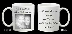 Personalised Photo Mug Best Friend Birthday Friends Mug Present Christmas Gift