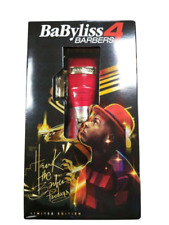Babyliss Pro Red FX FX870R Cordless Clipper Limited Edition Hawk The Barber