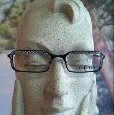 CAVIAR M1710 Black Metal Frame w. Crystal Rhinestones Eyeglasses