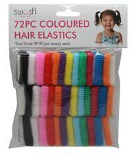 72PCS Elastic Rope Hair Ties Ponytail Holder Head Band Hairbands Accessories AU