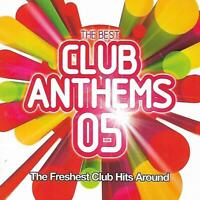 The Best Club Anthems 05 - Various Anthems (2005 Double CD Album)
