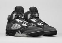 Nike Air Jordan 5 Retro Shoes Anthracite Black DB0731-001 Men's NEW