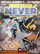 """Nathan Never SPECIALE n. 2 """" Dallo spazio profondo """" ed. Bonelli + albetto"""