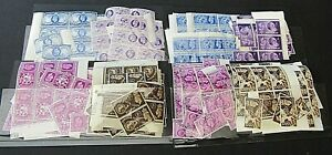 GREAT BRITAIN - FINE MULTIPLE MNH STOCK FOR THE GV1 1948 O/GAMES & 1949 UPU SETS