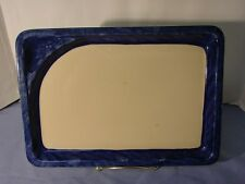 Vintage Rare Shenango China Inca Ware Byteboard Hand Painted Blue Brush