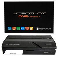 Dreambox One 4K 2x DVB-S2X Ultra HD Ricevitore Wifi Bluetooth E2 H.265 Iptv