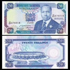 Kenya 20 Shillings, 1992, P-25e, Banknote, UNC