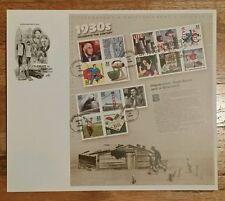 US SCOTT #3185 ARTCRAFT FDC SvSht CELEBRATE THE CENTURY - 1930s ISSUED 9/10/1998