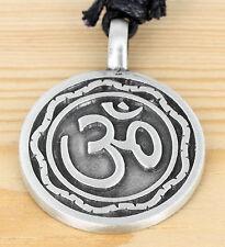 Anhänger  Schmuck Zinn - OM  Symbol für Schutz- Frieden - Kraft  - Lebensenergie