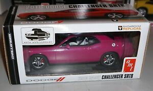 2010 Dodge Challenger R/T Classic Pink AMT Window Box Promo 1/25 New In Box.