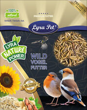 5 kg Soldatenfliegenlarven wie Mehlwürmer Hermetia calziumreich Koi Lyra Pet®