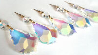 5 AB Iridescent 63mm French Chandelier Crystals Prisms Lead Crystal Ornaments