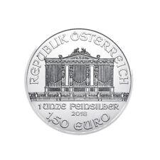 2018 Silver 1 oz Austria Philharmonic Silver 1 oz .999 fine 1.5 euro coin