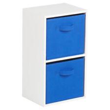 Unités de rangement bleus pour la maison