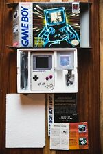Nintendo ORIGINAL DMG-01 GRAY GAMEBOY BACKLIT BIVERT MOD COMPLETE IN BOX Lot 6