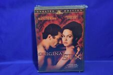 Original Sin (DVD, 2002, Unrated Version, Widescreen)  ~RESEALED~