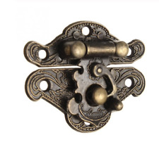 Bronze Antique Style Wooden Box Latch