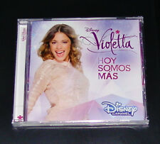DISNEY VIOLETTA HOY SOMOS MAS DER ORIGINALE SOUNDTRACK ZUR TV SERIE CD NEU & OVP
