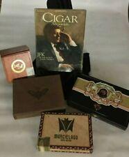Cigar Aficionado Magazine (December 1998) John F. Kennedy & 4 Cigar Boxes