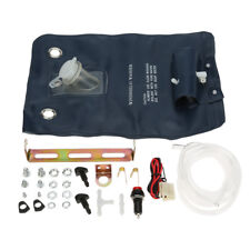 UNIVERSAL WINDSCREEN WASHER BOTTLE BAG KIT WITH JET BUTTON FOR CLASSIC CAR ACCS