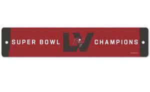 Superbowl LV. Street Sign 3x19  NFL Wincraft