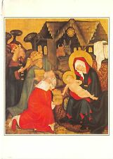 BF35051 adoration of the kings bohemian master  painting  art front/back scan