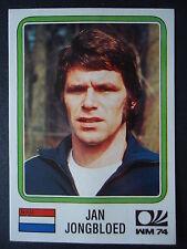Panini 76 Jan Jongbloed Niederlande WM 74 World Cup Story
