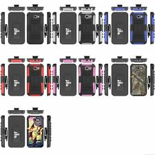 Wholesale lot Cell Phone Cases Hybrid Silicone & Holster Many Designs 6658 PCs