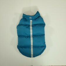 Free Country (Medium Dog Size) Down Vest  Reflective Coat - Teal