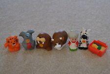 Fisher Price Little People Noah's Ark Animals, set of 7, wife of Noah, alphabets
